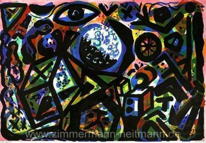 "A. R. Penck ""The Colors of the Night"""