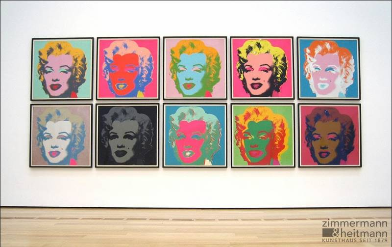 marilyn sunday b morning edition von andy warhol. Black Bedroom Furniture Sets. Home Design Ideas