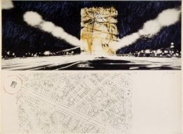 Arc de Triomphe, Paris (1970) von Christo