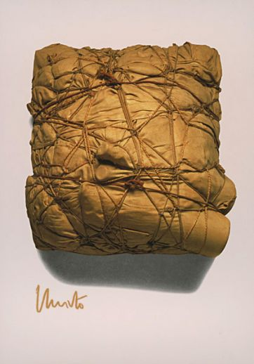 "Christo ""Package 1961 (signiert)"""