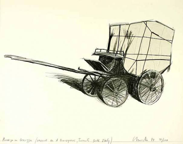 "Christo ""Package on Carrozza"""