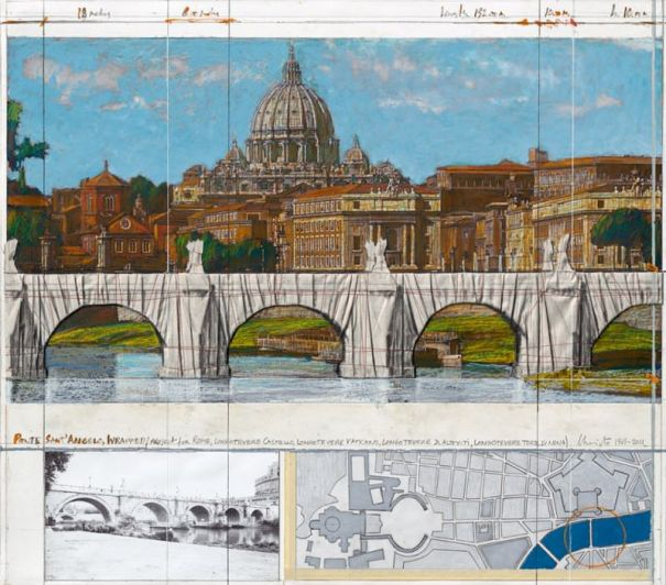 "Christo ""Ponte Sant Angelo"""