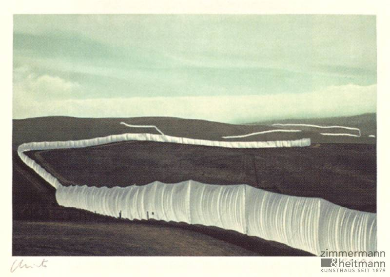 "Christo ""Running Fence, California """