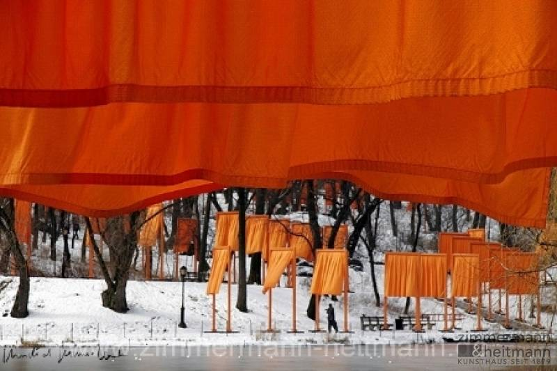 "Christo ""The Gates, Foto von Sylvia Volz 52"""
