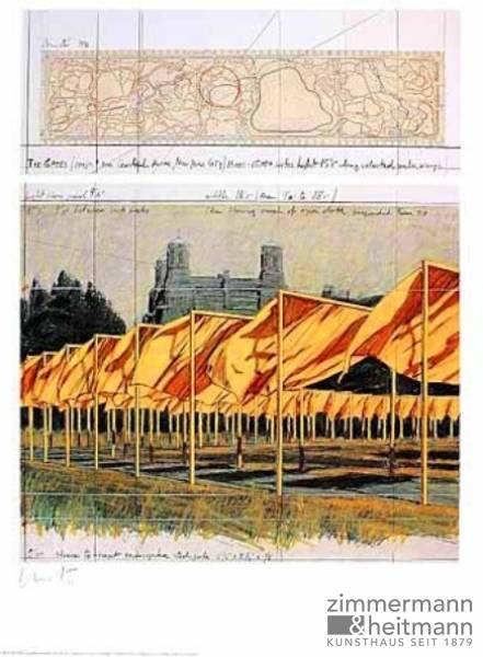 "Christo ""The Gates I (1990)"""