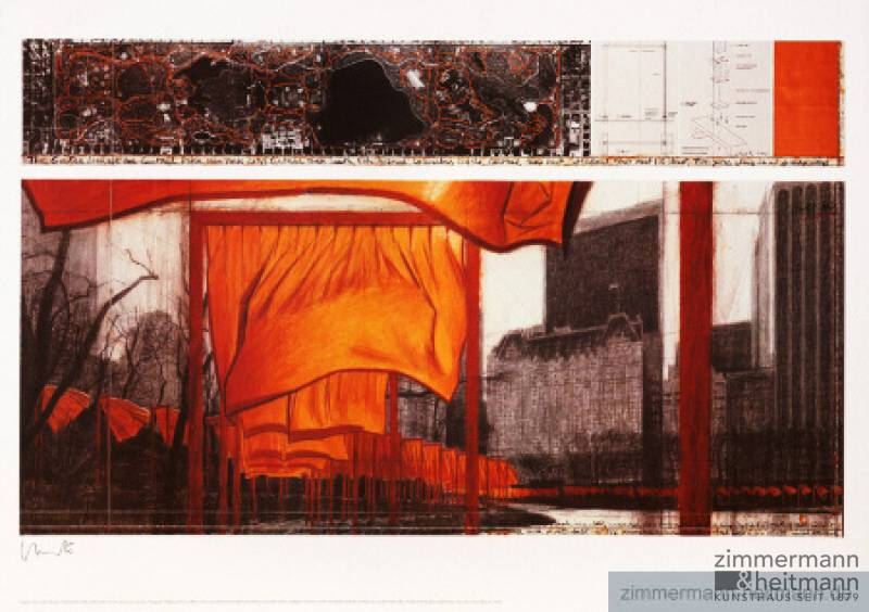 "Christo ""The Gates XIX"""