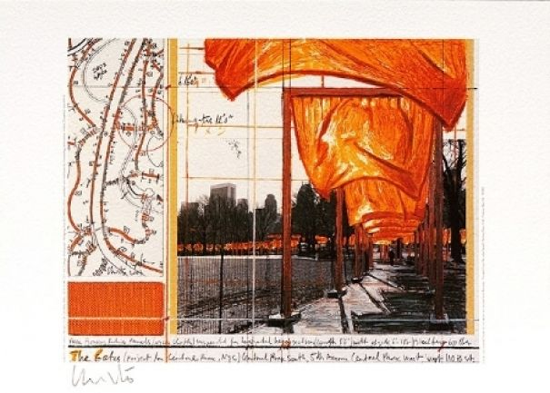 "Christo ""The Gates XV"""