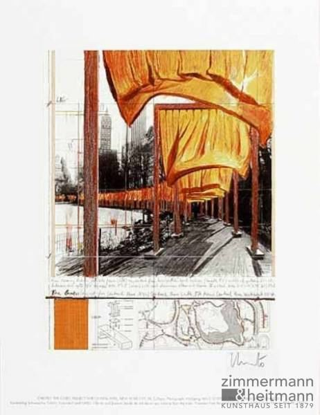 "Christo ""The Gates XXII"""