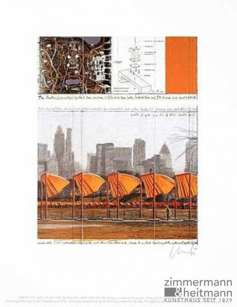 "Christo ""The Gates XXV"""