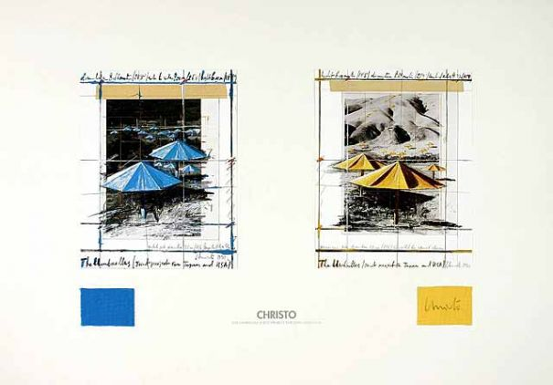 "Christo ""The Umbrellas, Joint Project """