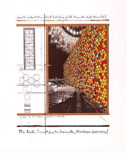 "Christo ""The Wall Nr. III """