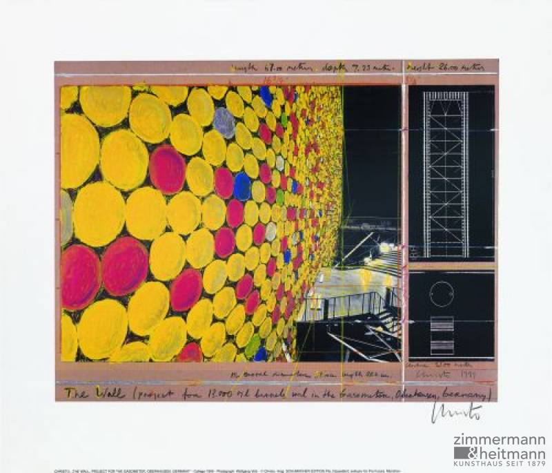 "Christo ""The Wall Nr. IV 1999 """