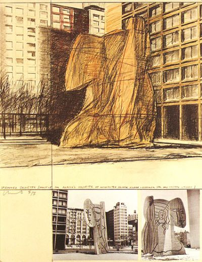 Christo - Verpackte Sylvette (1973-74)