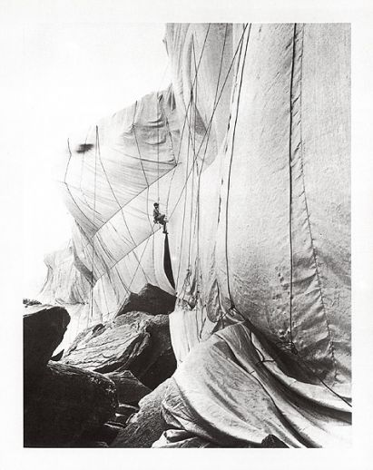 "Christo ""Wrapped Coast, Australia 1969"""