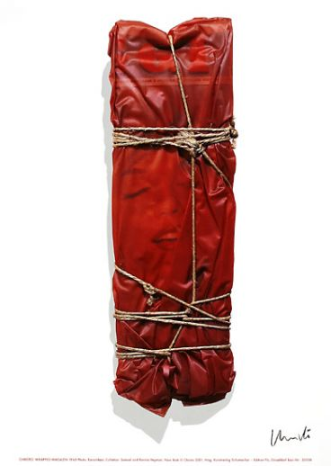 "Christo ""Wrapped Magazine, signiert """