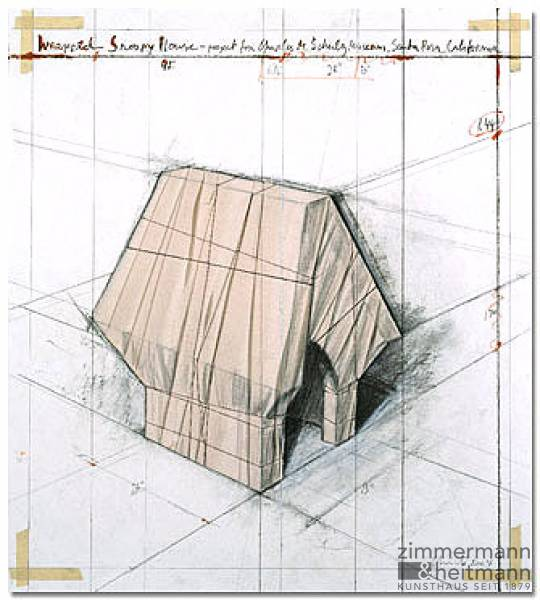"Christo ""Wrapped Snoopy House, Project"""