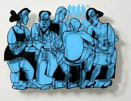 "David Gerstein ""Bar Series - After Hours (blue)"""