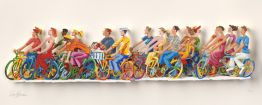 "David Gerstein ""Biking A,B (Papercut)"""