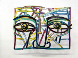 "David Gerstein ""Graffiti Face 3"""
