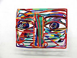 "David Gerstein ""Graffiti Face 4"""