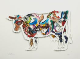"David Gerstein ""Imelda Cow (Papercut)"""