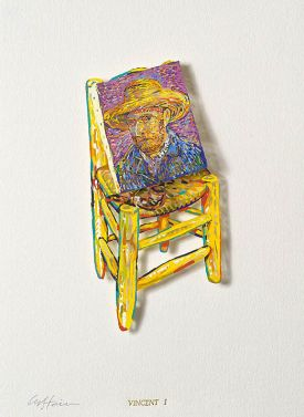 "David Gerstein ""Vincent I (Papercut)"""
