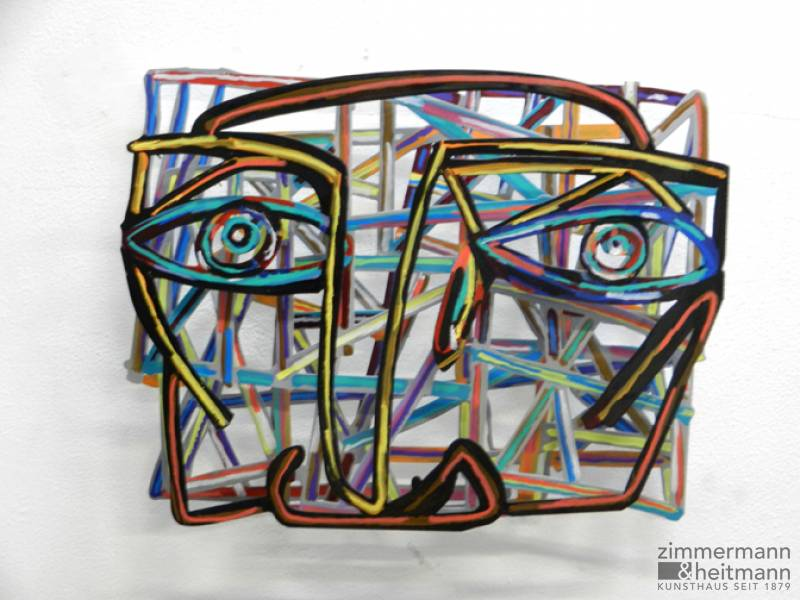 "David Gerstein ""Graffiti Face 1"""
