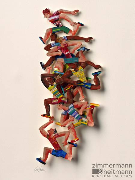 "David Gerstein ""Photo Finish (Papercut)"""