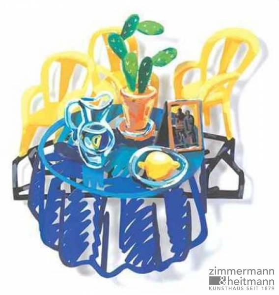 "David Gerstein ""Table with Cactus"""