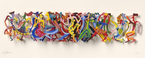 "David Gerstein ""The Party (Papercut)"""