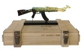 "Diederik van Appel ""AK 47 Love & Peace - ART AGAINST WAR"""