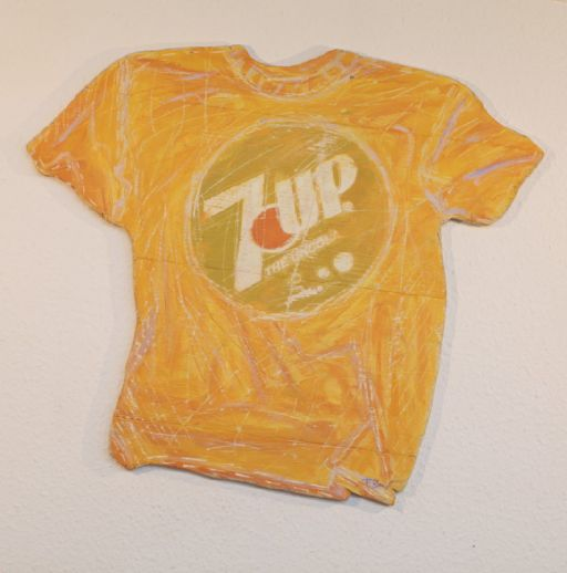 "Frank Böhmer ""7 UP T-Shirt Wallsculpture"""