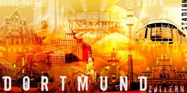 "Fritz Art ""Dortmund Collage 2"""