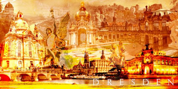"Fritz Art ""Dresden Collage"""