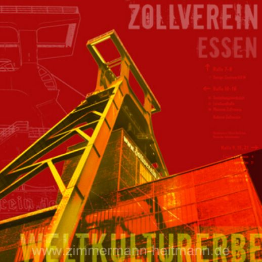 "Fritz Art ""Essen Zeche Zollverein"""