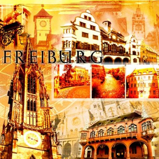 Fritz Art - Freiburg Collage