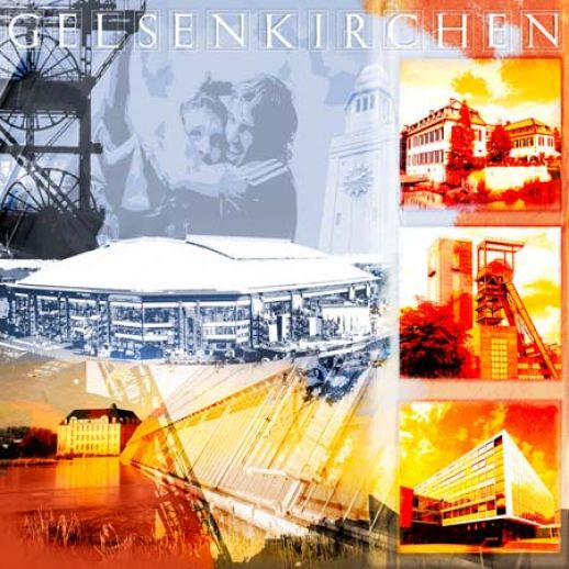 Fritz Art - Gelsenkirchen Collage