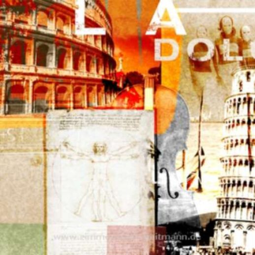 "Fritz Art ""Italien Collage"""