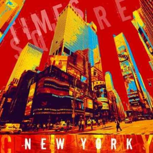 "Fritz Art ""New York Times Square"""