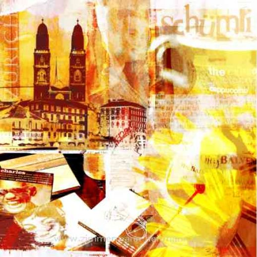 "Fritz Art ""Zuerich Collage1"""