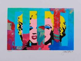 "James Francis Gill ""Marilyn In The Sky 5"""