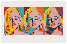 Three Faces Of Marilyn von James Francis Gill aus dem Jahr 2014