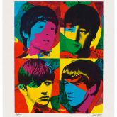 Young Beatles ... Beautiful Magic von James Francis Gill aus dem Jahr 2014