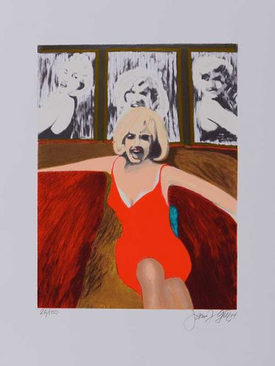 "James Francis Gill ""Marilyn Golden Anniversary"""
