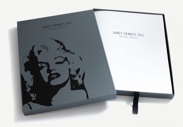 "James Francis Gill ""Marilyn Monroe Box mit 10 Graphiken"""