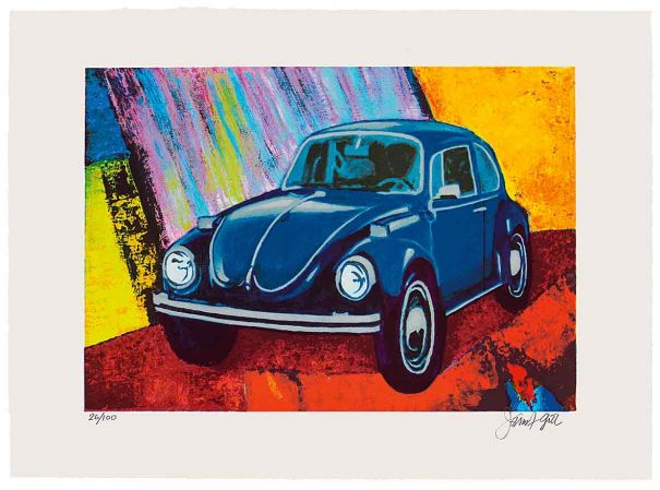 "James Francis Gill ""Rainbow Bug"""