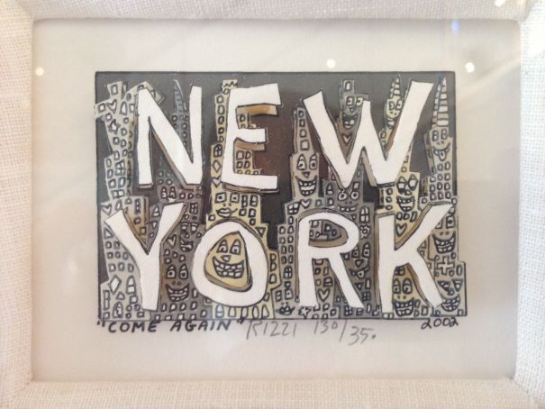 "James Rizzi ""81 Rizzi Prints On The Wall"""