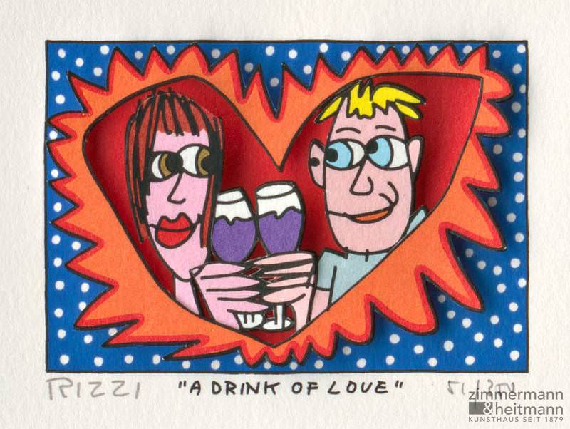 "James Rizzi ""A Drink of Love"""