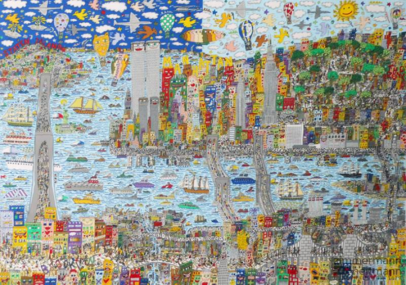 "James Rizzi ""A New York Marathon for all"""