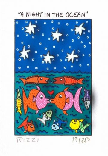 "James Rizzi ""A Night in the Ocean"""